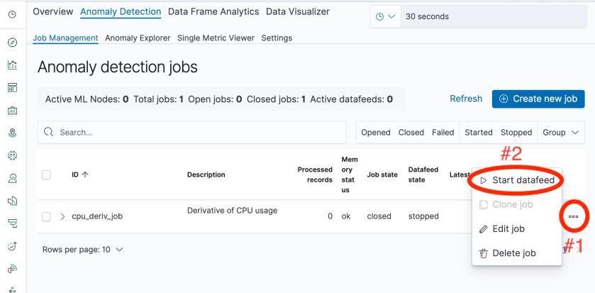 Start-datafeed